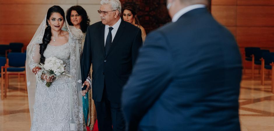 Image de cérémonie de mariage musulman d'un Elopement de Lisbonne, Portugal - photographie par Carlos Porfírio