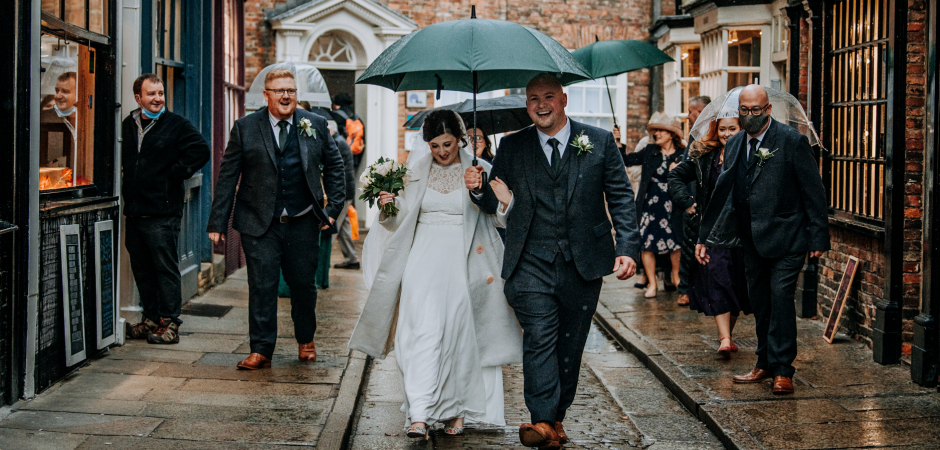 Shambles, North Yorkshire, UK Elopement Photography by Patrick Mateer
