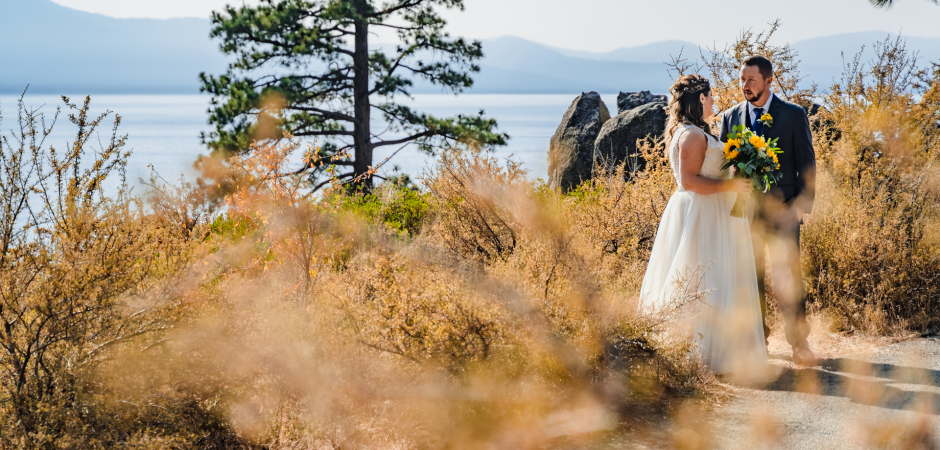 Image from a Lakeside Beach Wedding Venue Elopement - Photo by Kimmi Cranes
