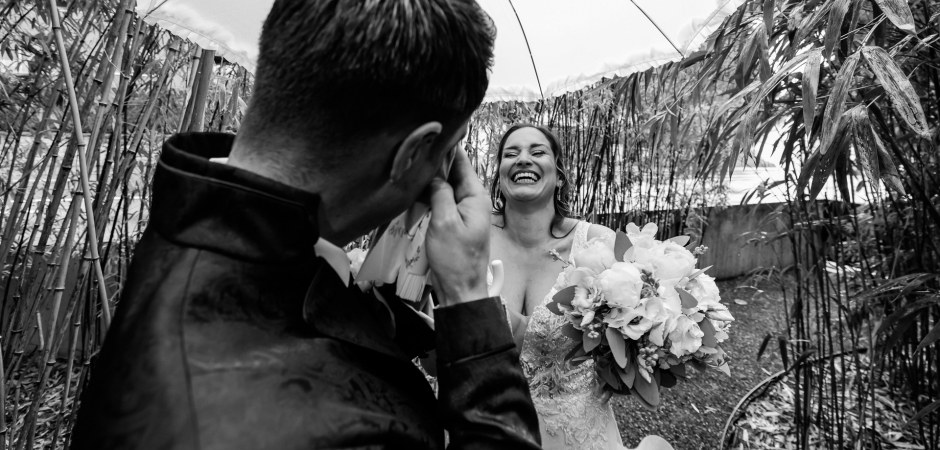 BW wedding image from a Castle in Rapperswil, Switzerland - Elopement Event Photography by Mischa Baettig