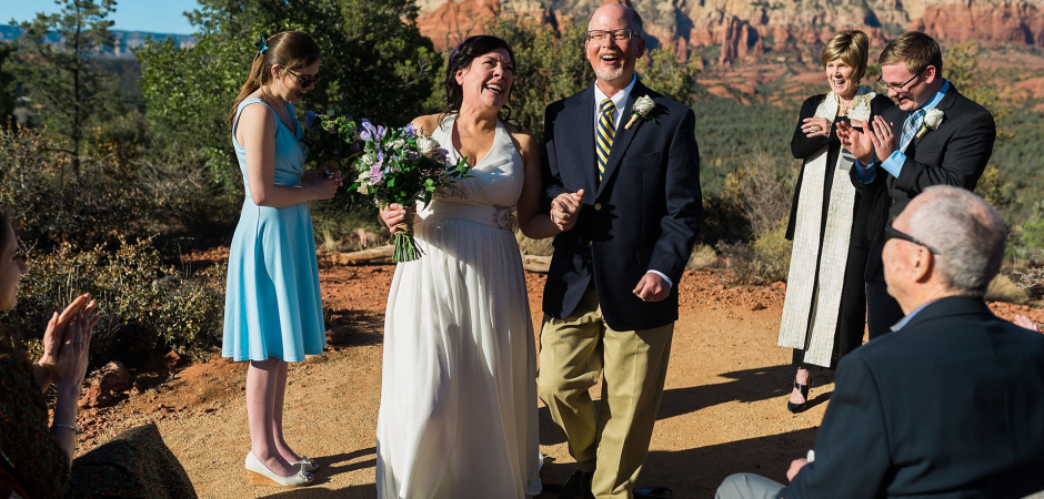 Outdoor image from a Sedona Parks and Recreation Land, Arizona Desert Wedding - Elopement Photography by Lauren Lindley