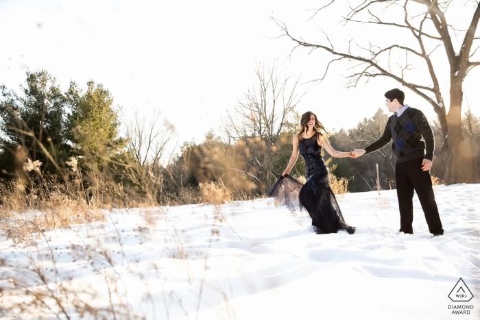 Pre-Wedding Portrait Photographer   Minneapolis, MN Engagement Photography