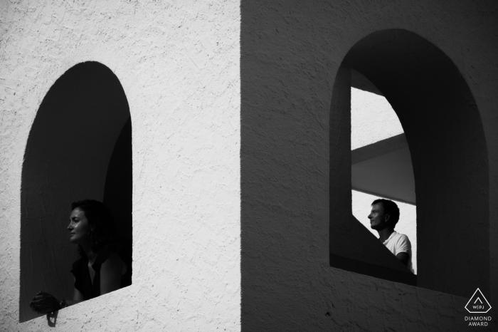 Sousse, Tunisa-verlovingsportretsessie voor foto's