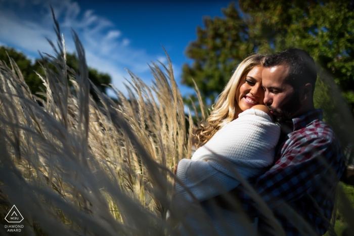 Photos de fiançailles à San Francisco d'un couple par un photographe de mariage de premier plan en Californie du Nord