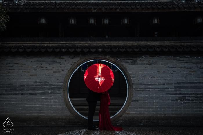 Hangzhou ciudad Zhejiang fotografía de compromiso