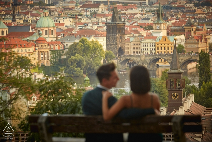 Heiratsverlobung & Überraschung Heiratsantrag in Prag C & D