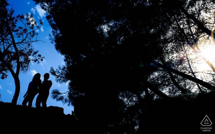 Photographe de mariage à Murcie pour la photographie de fiançailles en Espagne