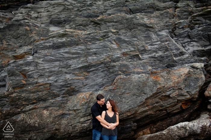 Rhode Island, USA Photographes de fiançailles de mariage