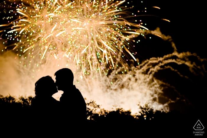 Key West Fireworks Engagement Photographer   Florida Photography