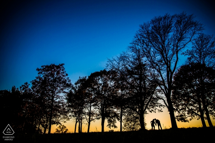 Eric McCallister, of New Hampshire, is a wedding photographer for