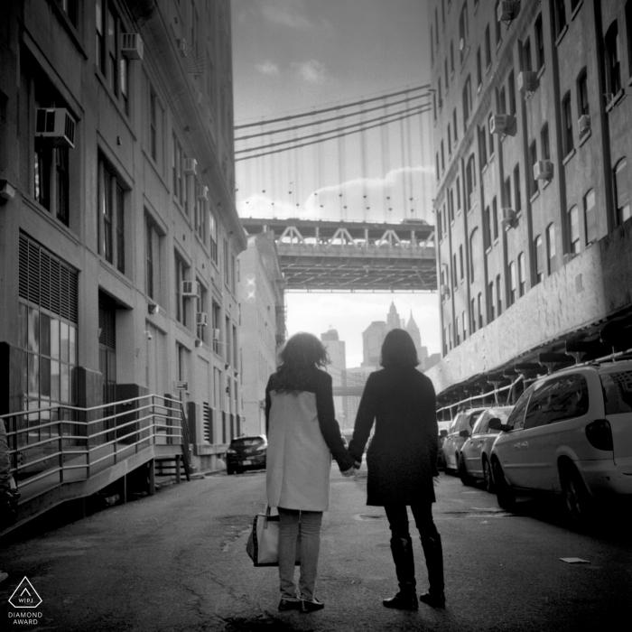 Olya Vysotskaya, of New York, is a wedding photographer for