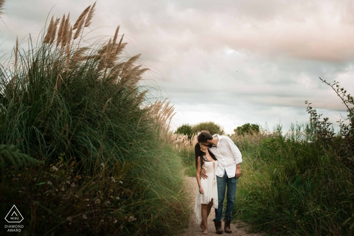 Chrystel Echavidre, of , is a wedding photographer for