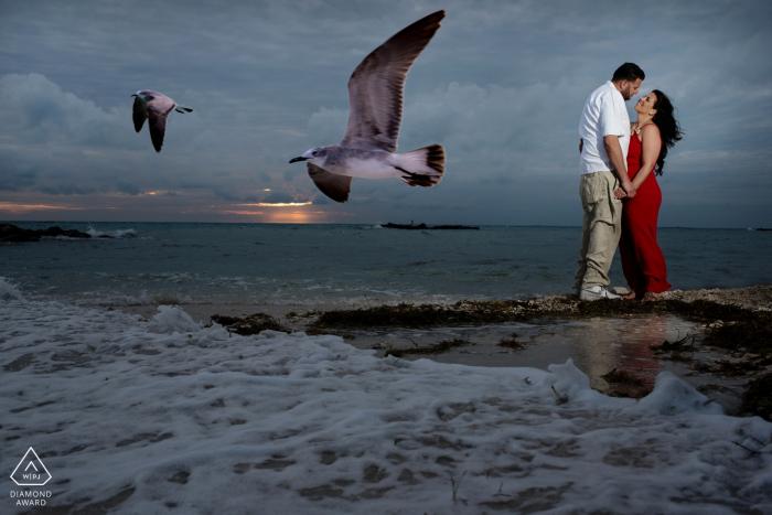 Julie Ambos, aus Florida, ist eine Hochzeitsfotografin für