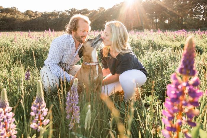 Katie Kaizer, uit Massachusetts, is een trouwfotograaf voor