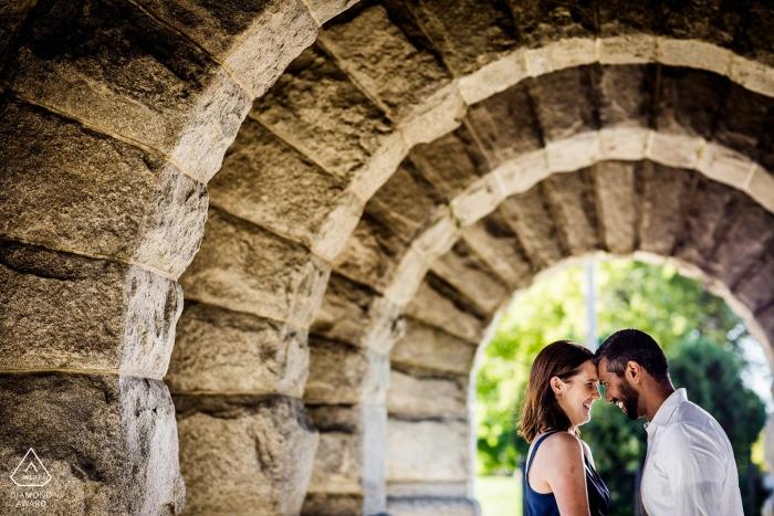 Allison Williams, de Illinois, es fotógrafa de bodas de