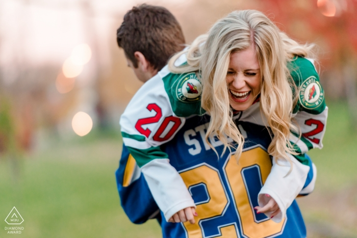 Laura Robinson, of Minnesota, is a wedding photographer for