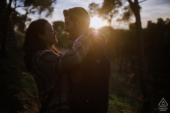 Manuel Medrano Coll, van Zaragoza, is een trouwfotograaf voor