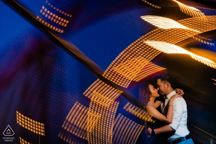 Khoi Le, of , is a wedding photographer for