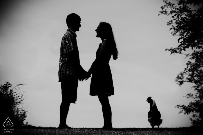 David Butler II, du Connecticut, est un photographe de mariage pour