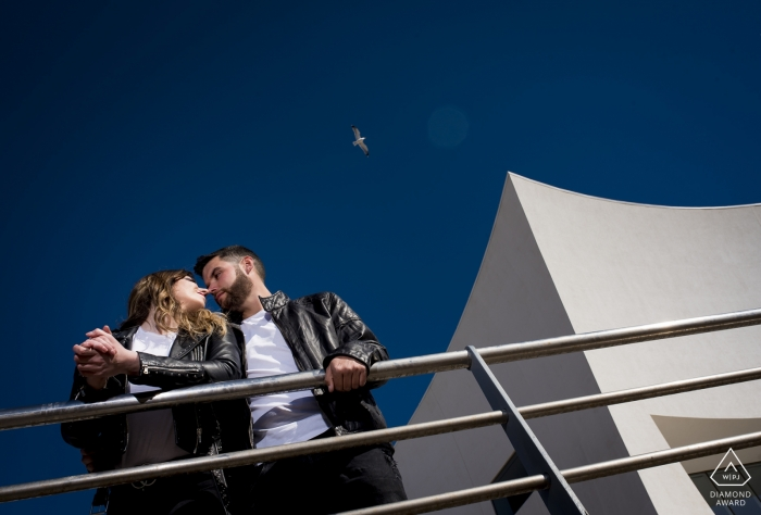 Águilas - Murcia engagement shoot in the sun - A wonderful day with a lovely couple