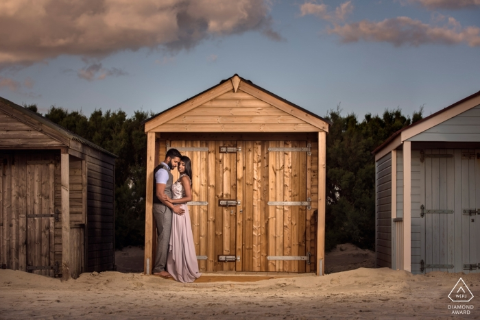 West Wittering, West Sussex   England Engagement shoot