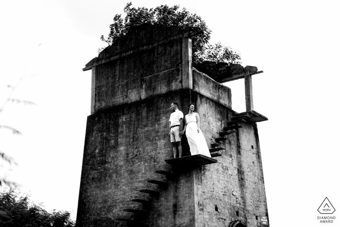 Vietnam PreWedding Session - Old brick kilns at Hoi An