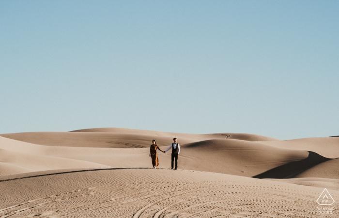 Just us in beautiful view - Arizona Engagement Photo in the Desert