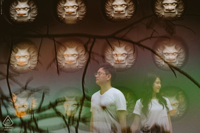 """""""You the best I ever had"""" - Vietnam Pre-Wedding Shoot with Reflections"""
