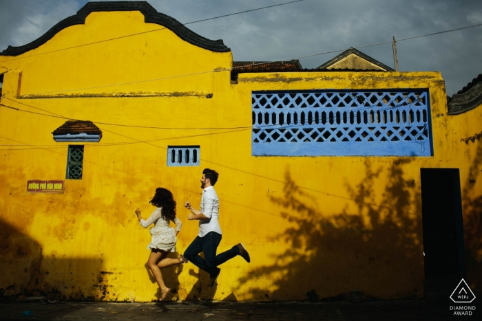 Pre-wedding portraits in Hoi An Vietnam - Engagement Photos