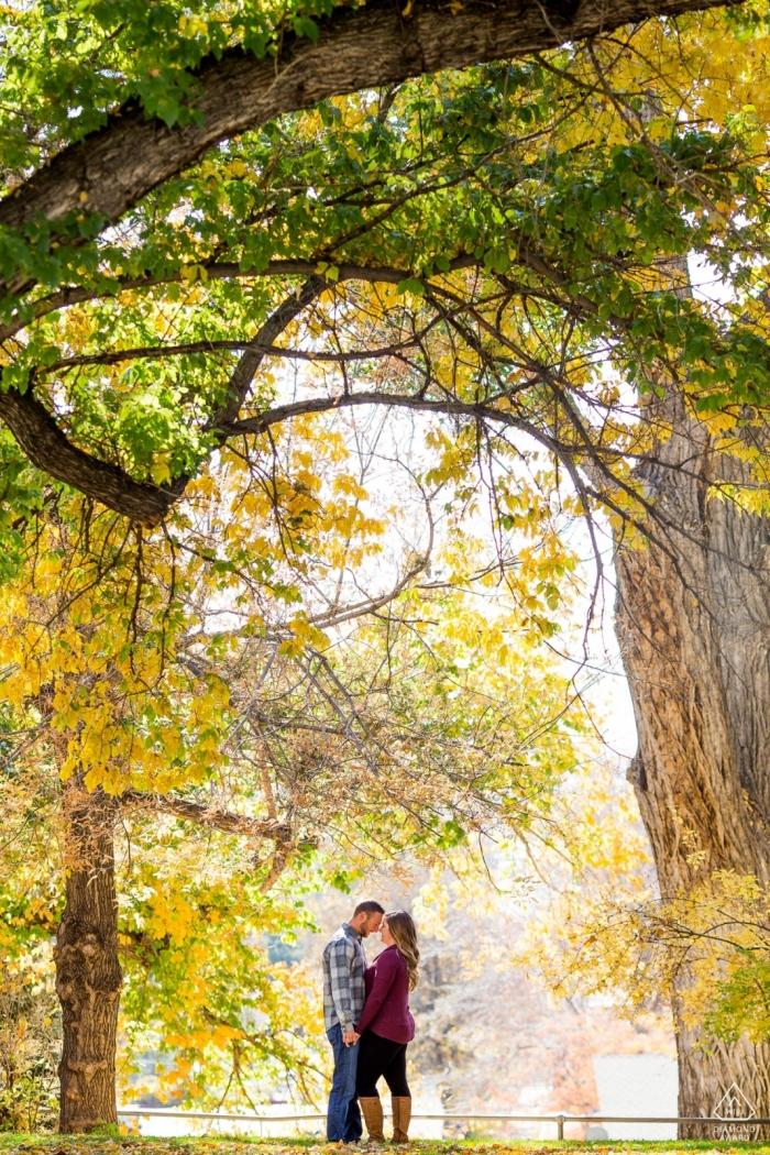 Unter den Bäumen in Kalifornien - Pre-Wedding Engagement Photos
