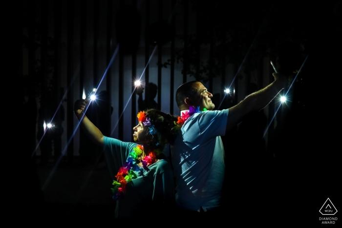 Siracusa Verlobungsporträts - Liebe in Sizilien mit Lichtern