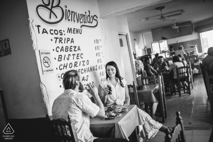 Photos d'engagement du restaurant Playa del Carmen - Meilleurs tacos en ville, Meilleur couple en ville