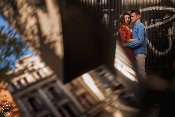 Séance de portrait avant le mariage à Barcelone