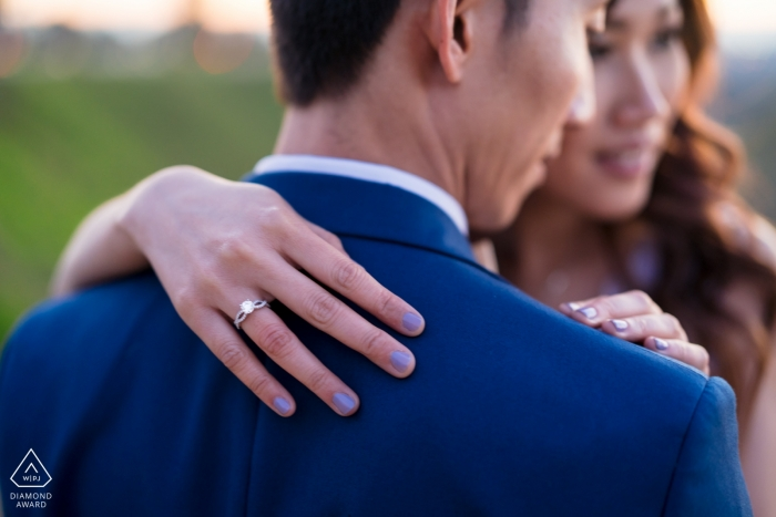 """Bakersfield, CA pre-wedding portrait session: I said: """"Yes!"""" 