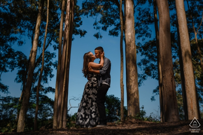 """Niteroi - RJ / Brazil Engagement Photographer: """"Stop the car at the side of the road, walk a little by a trail and you may have some wonderful surprises."""""""