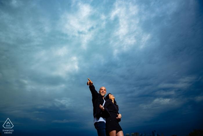"""Fotógrafo de retratos de Compromiso frente al mar de Camden: """"Les dije que se liberaran y esto es lo que sucedió""""."""