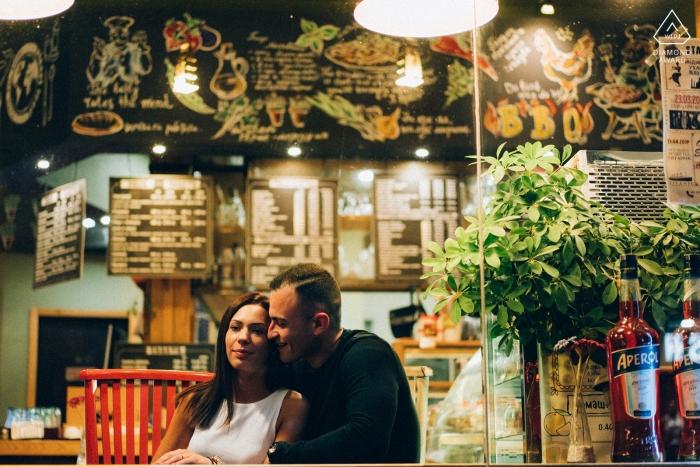 Ruse, Bulgaria - Love Couple Portrait In The Bar