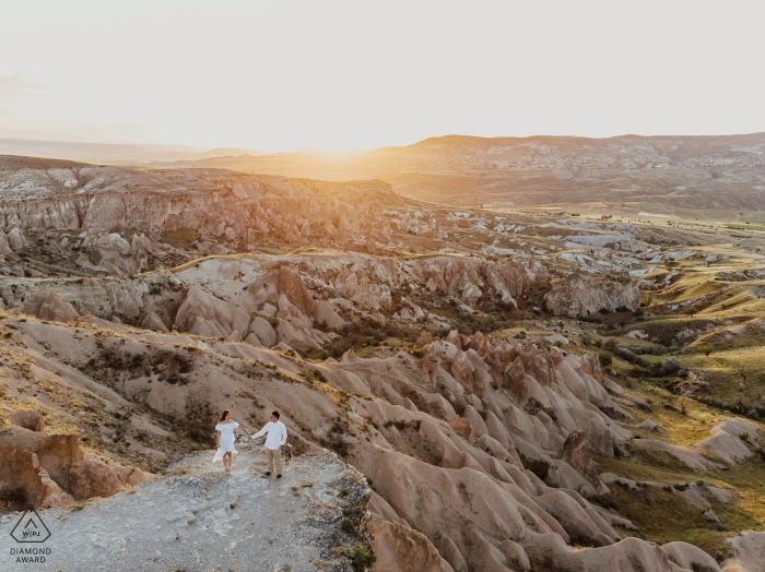 Cappadocia, Turkey Engagement Shoot with a Perfect Sunrise