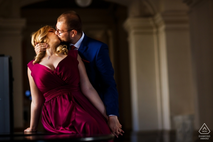 Cristina Tanase, of București, is a wedding photographer for