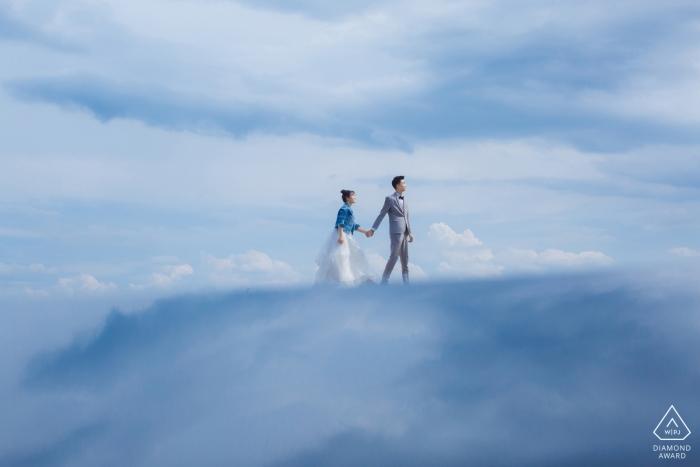 Hebei vor der Hochzeit Fotoshooting vor dem großen Tag - Liebe im Himmel