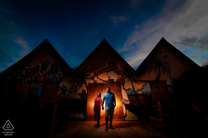 Pinones, PR Engagement Photography - Image contains:A common place turn into the Pyramids