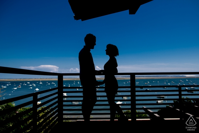 Cap Ferret, France Engagement Photography - Image contains:This couple remember the proposal at this same place