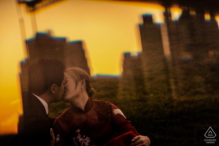 Wenjie Han aus New York ist ein Hochzeitsfotograf für