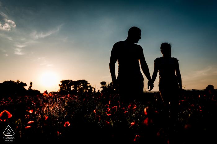 Sofia-Bulgaria Engagement Photographer: Pre wedding shoot for my clients
