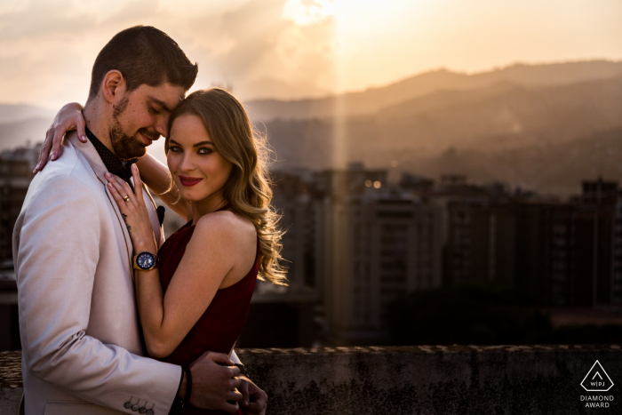 Caracas Sunset love portraits - Engagement Photo Shoot