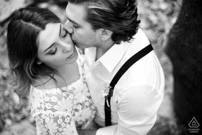 Bursa, Turkey pure love portraits of an engaged couple