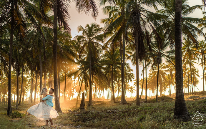 Frances Beach, Alagoas Portraits - Happiness in paradise during an engagement photo session