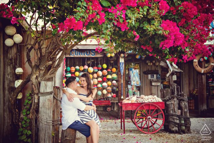 Key West Harbor engagement shoot at Macs Sea Garden
