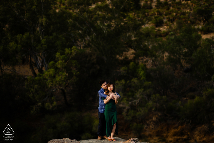 Western Australia pre wedding image from Perth - A beautiful couple shoot