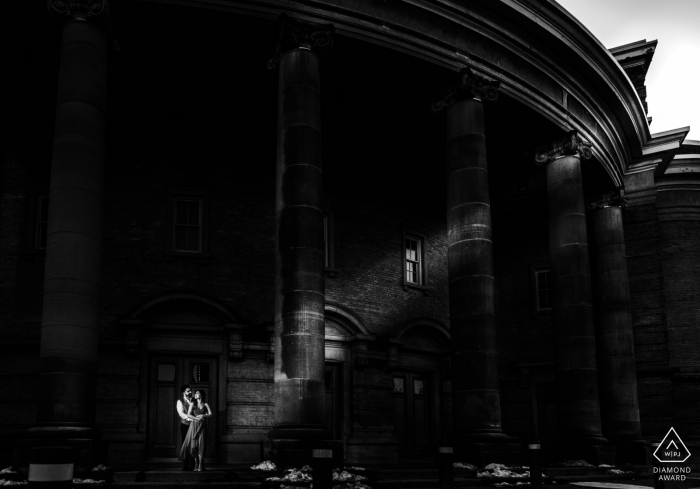 Engagement Photo Sessions | University of Toronto - Ray of Sunshine